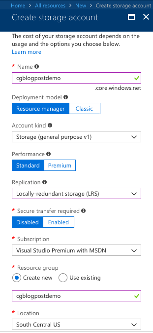 Fun with Azure Automation and Table Service REST API