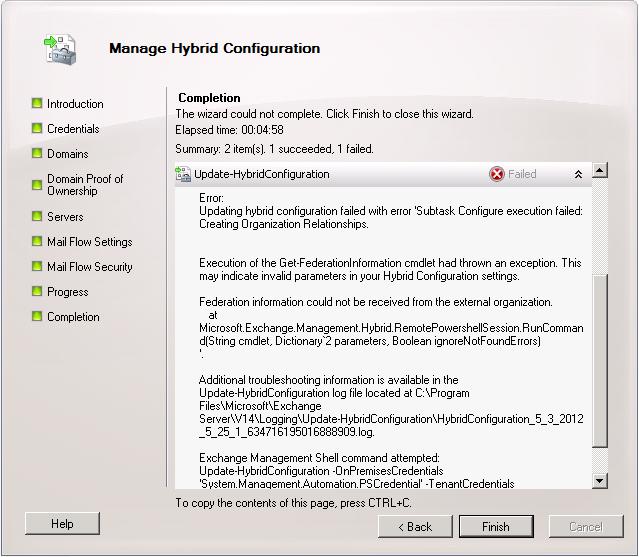 Exchange Hybrid Multi-namespace Autodiscover Configuration