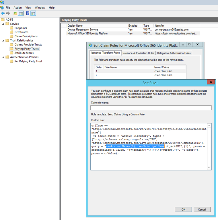Using Ad Fs Alternate Login Id With Office 365 Chris S